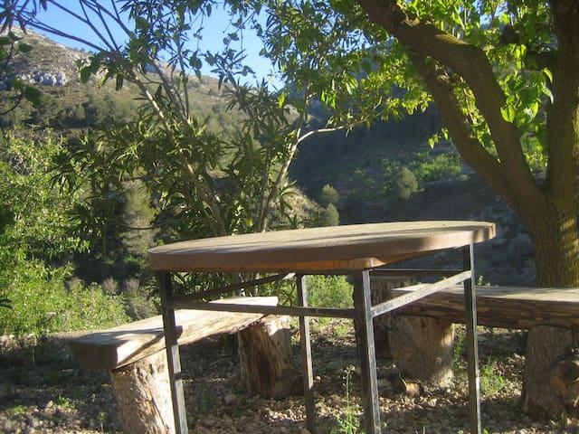100% Montaña Aitana-Guadalest Chimenea - Confrides - Maison