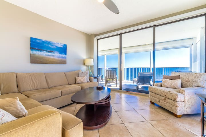 Luxury Beach Front Corner Unit with Stunning Views - Orange Beach - Apto. en complejo residencial