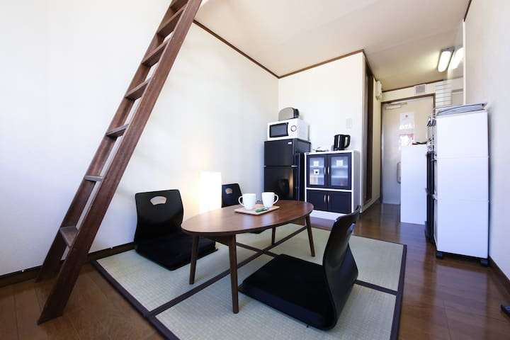 5 mins walk to JR Sta,with Portable wifi (A) - 戸田市 - Lägenhet