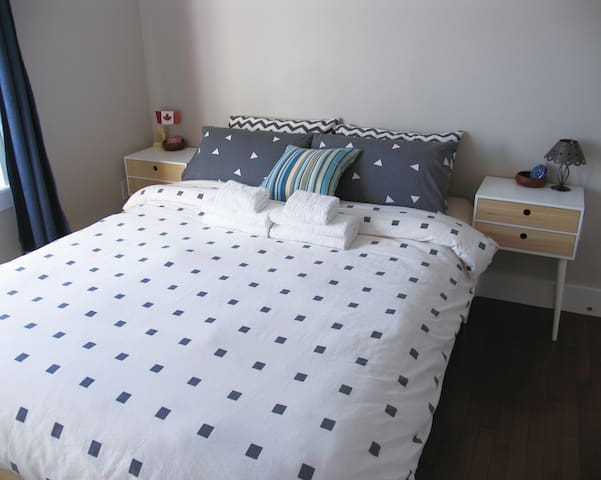 New, Clean, Bright&Private Room in Bedford #1 - Bedford - Stadswoning