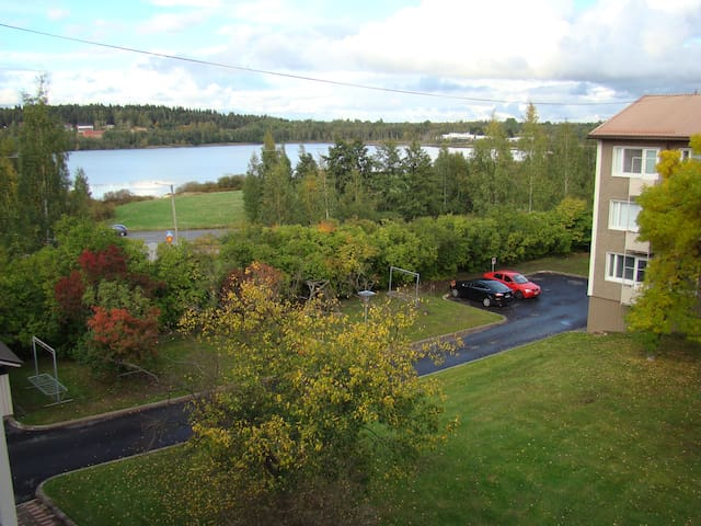 Top-Floor Apartment with Balcony - Tampere - Daire