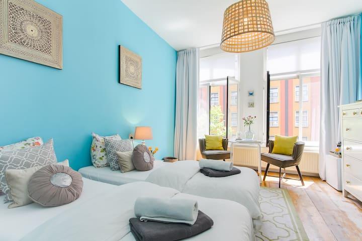 Beautiful room in the Heart of Adam - Amsterdam - Hus