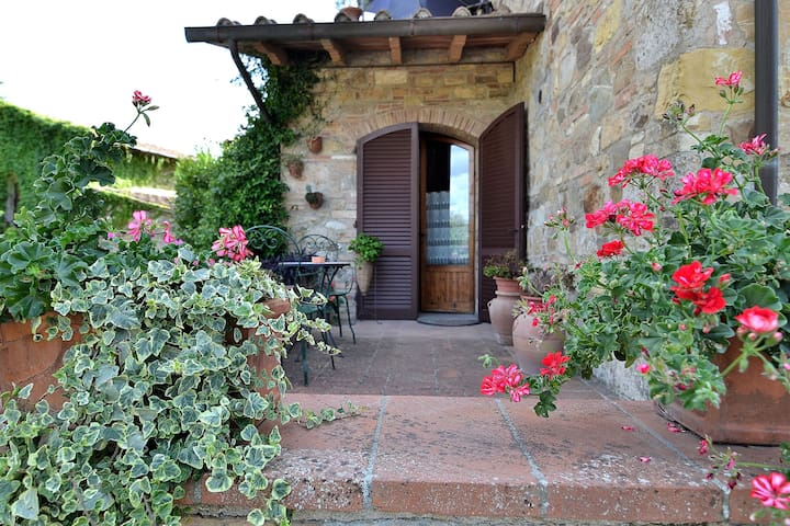 Btw Siena & Florence Your Tuscan House (Chianti) - ポッジボンシ - 一軒家