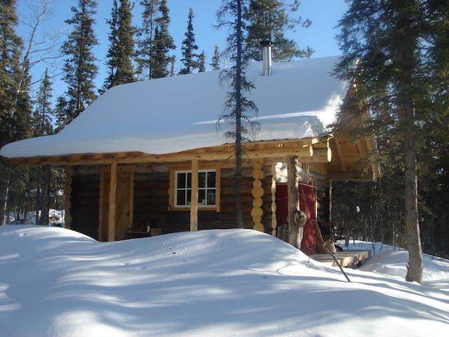 Rustic & Cozy Log Cabin - Whitehorse - Skjul