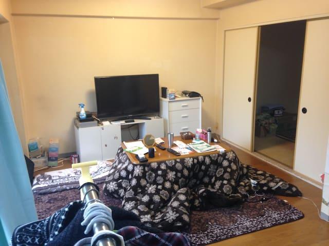 便利です!岩手と盛岡を満喫する拠点におすすめ。 - Morioka-shi - Appartement