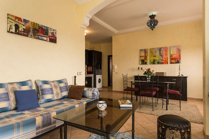 APPARTEMENT AVEC PISCINES VUE MER -  TAMGHAT - Apartemen