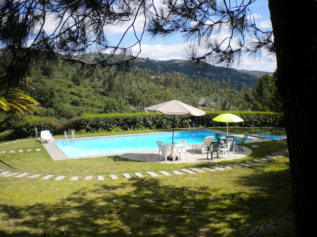 Country Home with Pool and Vineyard - Soalhães