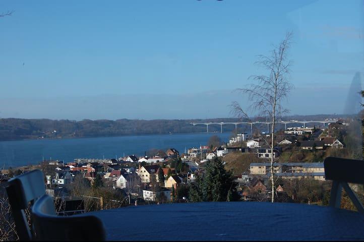 View of Vejle Fjord - Vejle - Casa