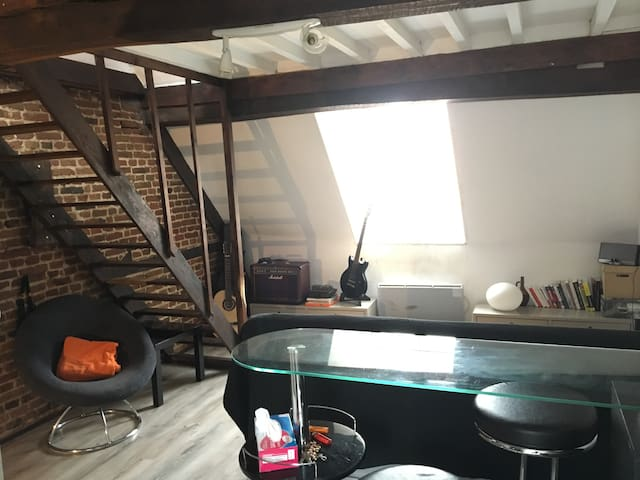 Appartement Cosy au coeur du Vieux Lille - Lille - Huoneisto