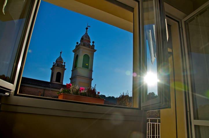 """Appartamento """"Sopra la Piazza"""" in Giallo - Sasso Marconi - Wohnung"""