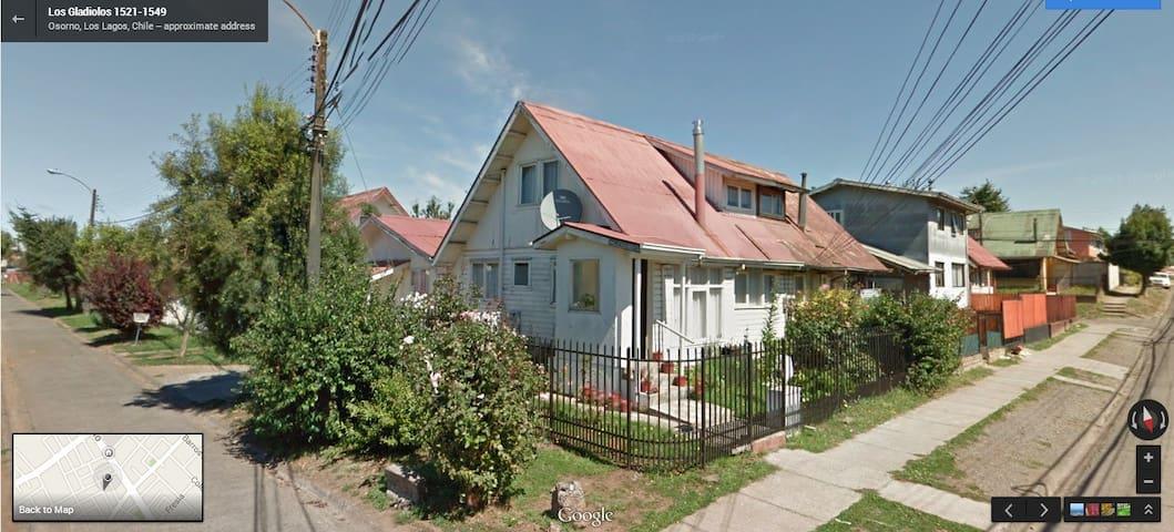 casa Osorno completa,centrica,ideal para familia - Osorno