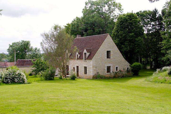 Maison en pierre avec Lac & Foret - Fontaine-Simon - Ev