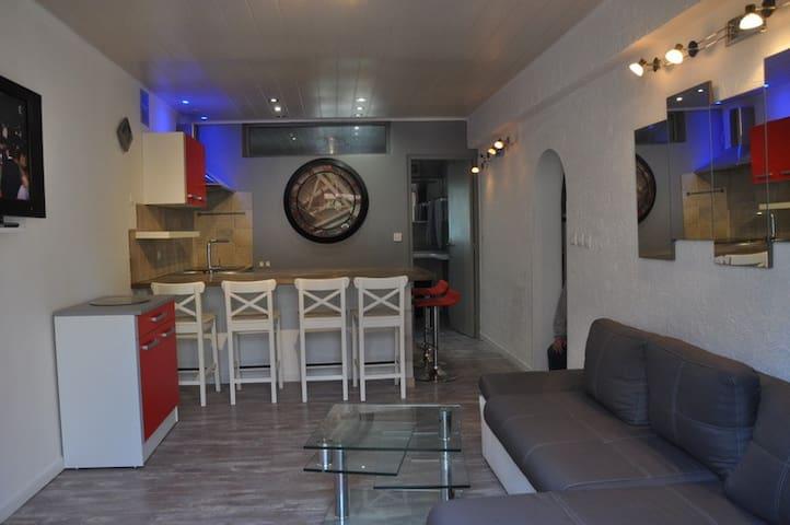 charmant appartement plain pied - Prunelli-di-Fiumorbo - Leilighet