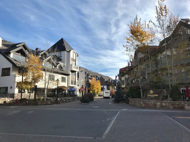 Beautiful spot in the heart of Vail Village. - Vail