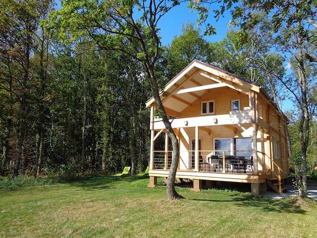 Puy Montaly, maison calme, nature, étang pêche - Charensat - 獨棟