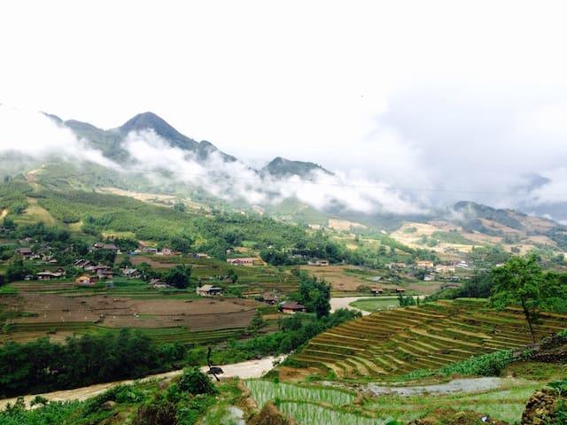 Sapa Rice Field View - tt. Sa Pa - Bed & Breakfast