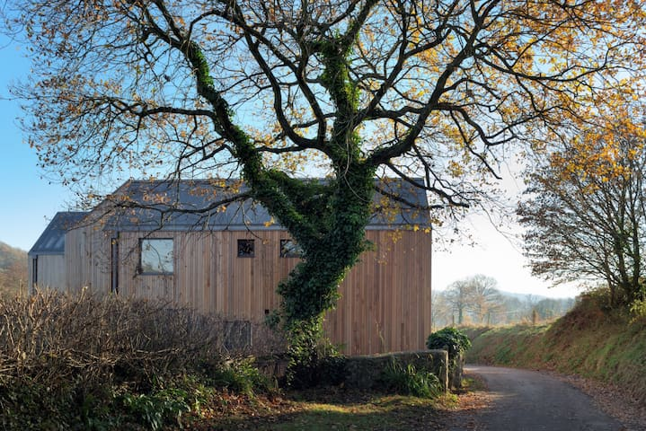 Secluded Luxury Wooden House - Colyton - Hus