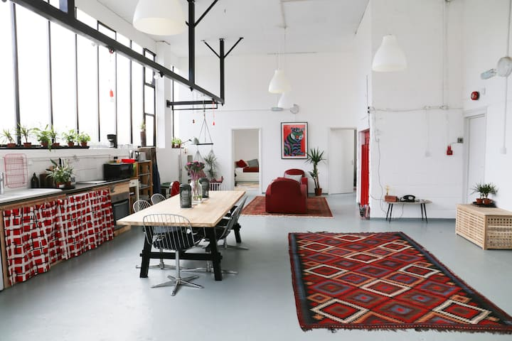 NYC-Style Loft with Duplex Apartments - Studio 4 - Londres - Loft