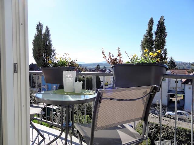 Schönes Dachgeschoss-Studio - Göppingen - Apartamento
