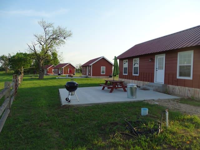 7D Ranch Cabin #3 - Navasota - Cabane