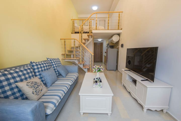 住宅小区温馨LOFT公寓,酒店式管理,入住舒适安心 - Shenzhen