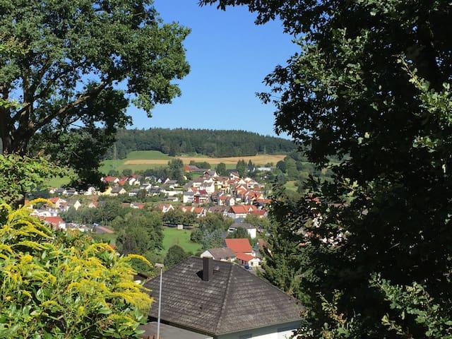 Im Grünen und doch stadtnah F**** - Bad Hersfeld - Lägenhet
