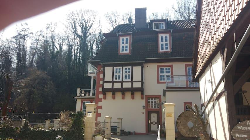 Zimmer in  Wassermühle/ bright room in watermill - Friedland - Apartemen
