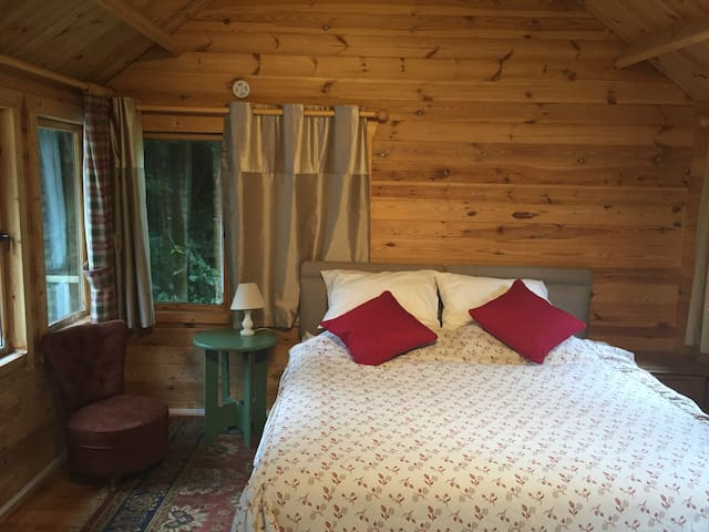 Summer cabin (S/C) with outdoor bbq & hot-tub - Reading - Hytte