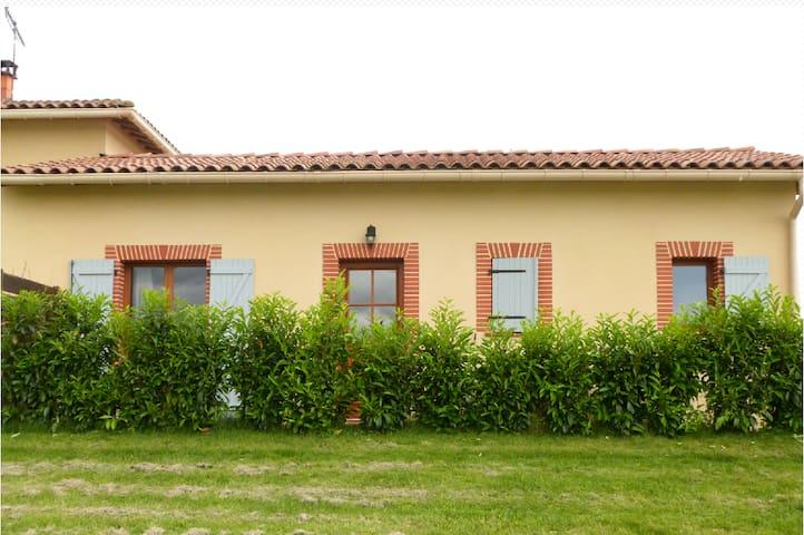 Gîte à la campagne - Lézat-sur-Lèze - Huis