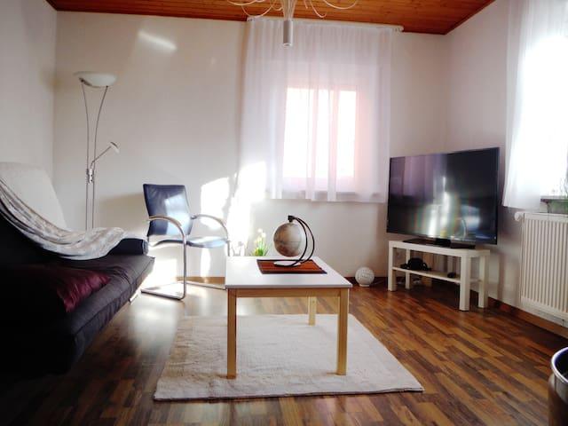 Ferienwohnung am Uhlandsgarten - Albstadt - Apartamento