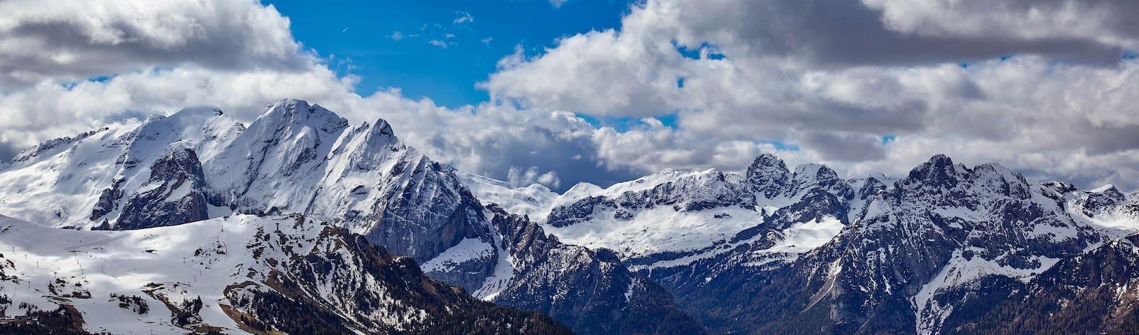 Dolomiti Marmolada 7 bed 1p - Rocca Pietore - Hus