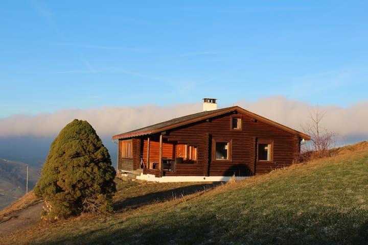 Blockhütte oberhalb Ebnat-Kappel - Ebnat-Kappel - Casa