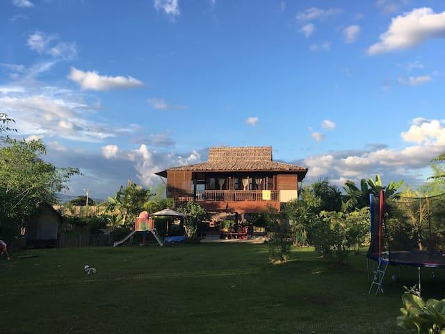 Doi Suksai - Nature Paradise in the rice fields - Ban Waen