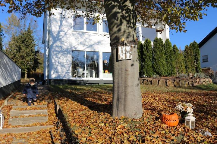 Eigene Wohnung, großer Garten, Neue Küche, Ruhe - Fulda - Lägenhet