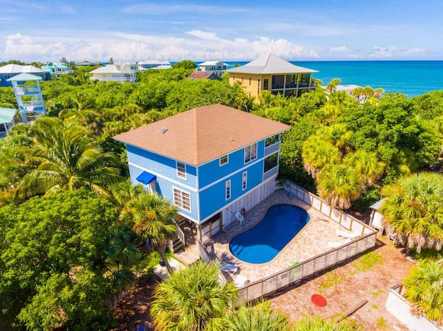 Private Pool Home - Just 25 Steps to the Beach - Captiva - Huis