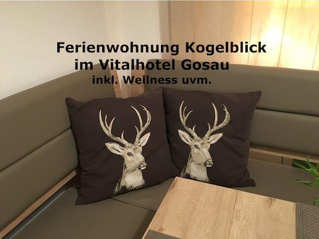 Apartment Kogelblick Gosau (in the Vitalhotel) - Gosau - Lägenhet