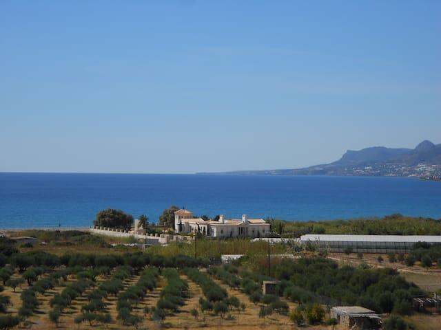 Unique neo-classical luxury sea front villa for 10 - Lasithi - Ev