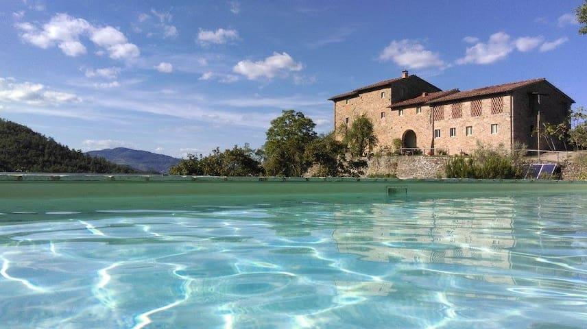 Cosy Tuscan Retreat, Il Melograno - Borselli - Daire