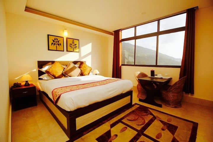 Valley Vista Resort- Deluxe room with view - Gangtok