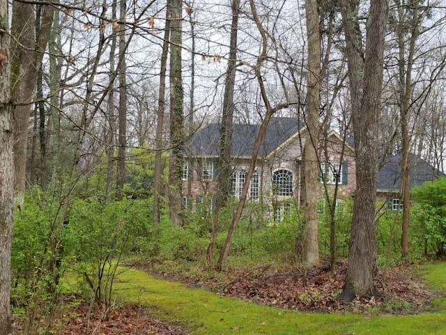 Elegant Woodland Retreat - Bardstown - Casa