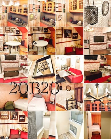 2BR Rustic Country Flat - Manila