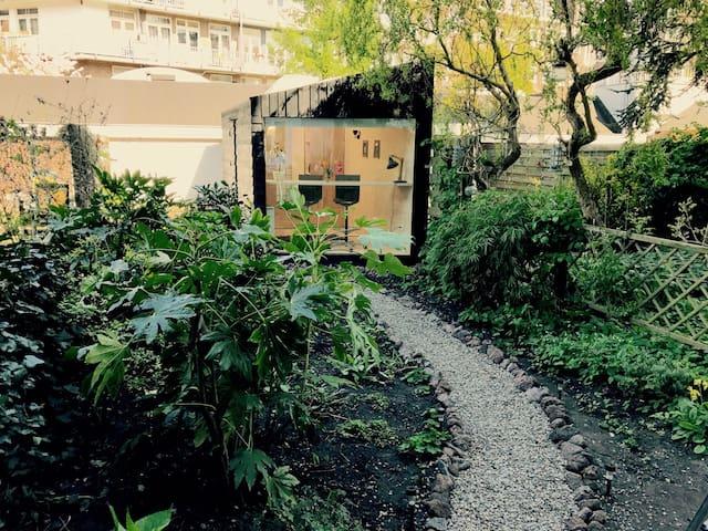 De Hoek all-in-one private garden house - Amsterdam - Cabane