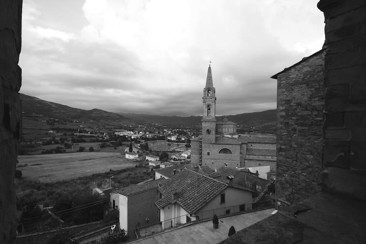 Il Vicolo - accoglienza in centro storico - Castiglion Fiorentino - Daire