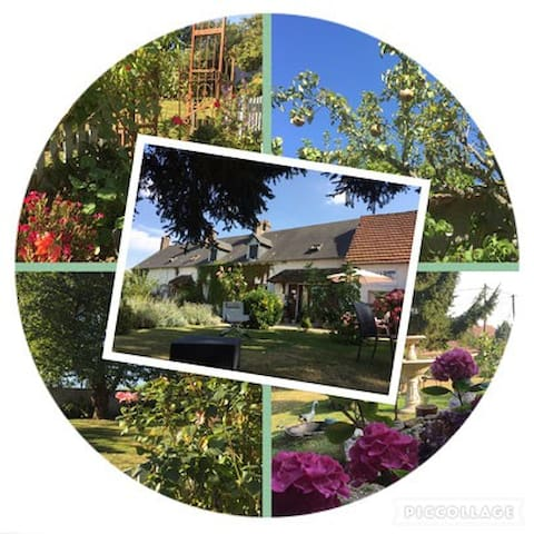 Week-end à la campagne proche de Giverny, Andelys - Tourny - Casa