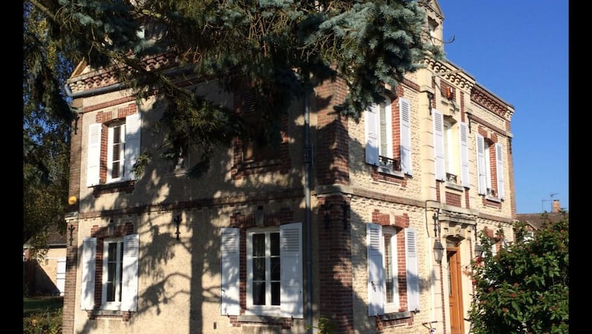 Peaceful Normandy home, 1hr from Paris, nr Giverny - Tourny - Casa