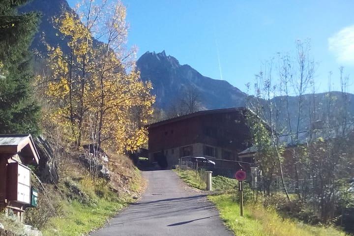 Parc de la Vanoise, dans un CHALET, appt 6/8 pers. - Planay - Departamento