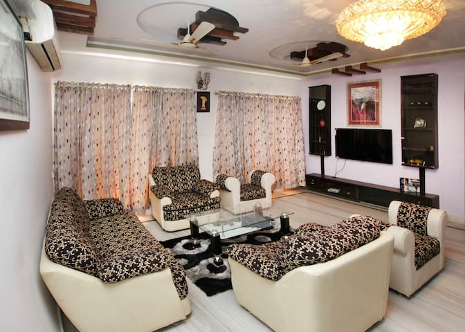 3 BHK Family Friendly Apartment - Hyderabad - Appartement
