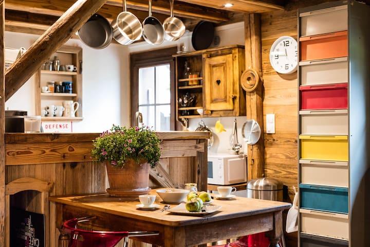 Petite maison entre Genève et les montagnes - Viuz-en-Sallaz - Hus