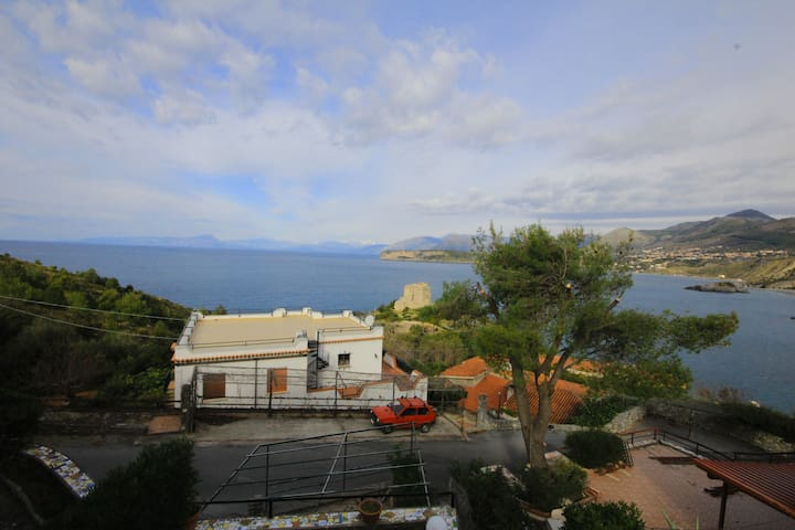 Outstanding flat with sea view - San Nicola Arcella