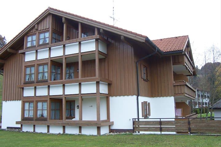 Skipass bei Landhaus Eibelesee inclusive - Oberstaufen - Leilighet